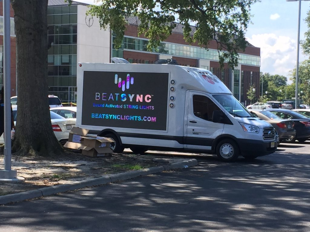 LED Screen Truck Hire OOH Advertising New York