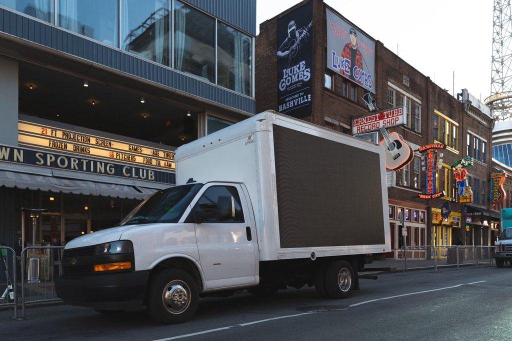 Hire Mobile Media Vehicle New York